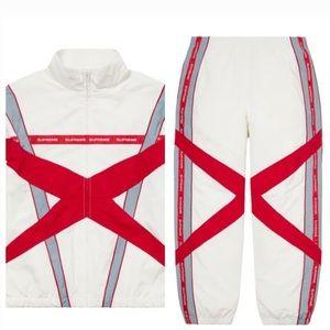 SUPREME jogger and jacket set Medium Brand New